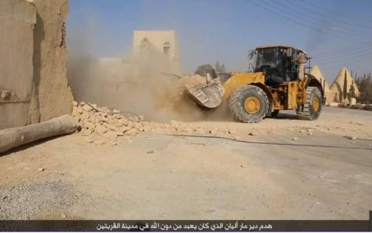 Barbarzyńcy z ISIS zburzyli klasztor z V w.