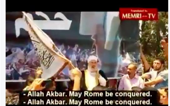 """""""Precz z rozwiązaniami pokojowymi! Allah akbar!"""""""