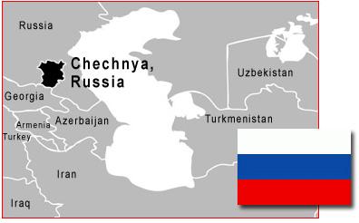 Chrześcijaństwo zniszczone w Czeczenii
