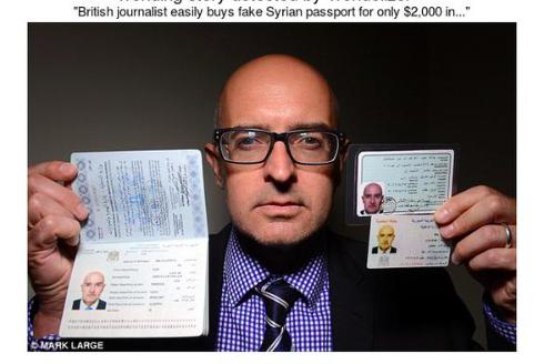 Fala fałszywych uchodźców z Syrii