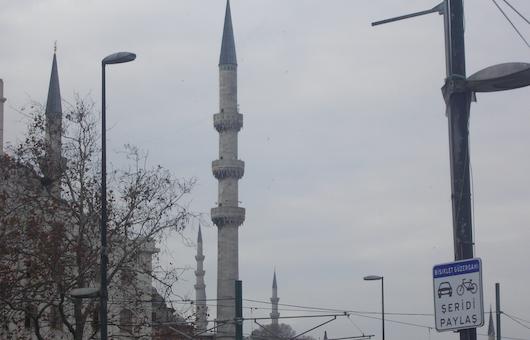 Na tureckim kazaniu