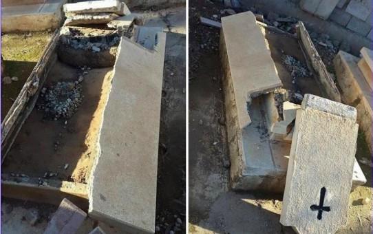 Zdewastowano cmentarz chrześcijański w Kirkuku