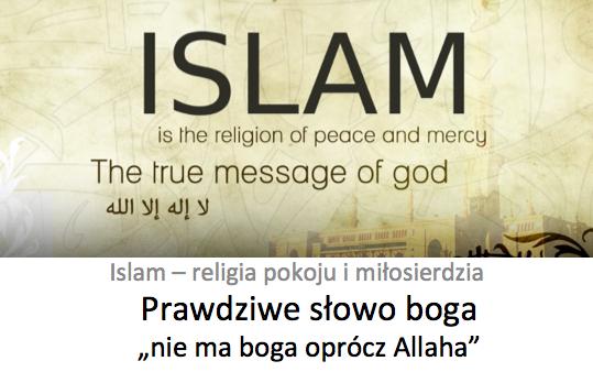 Propaganda islamu pełna nienawiści