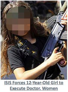 12-letnia dziewczyna rozstrzelała 5 kobiet