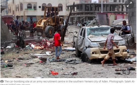 Masakra w Jemenie - 72 zabitych dla Allaha