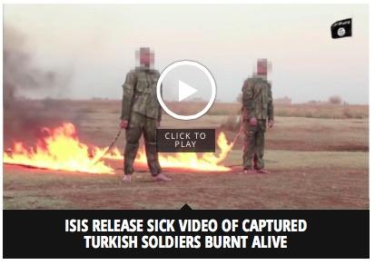 Kolejne spalenie żywcem - Allah ma dobrych pomocników!