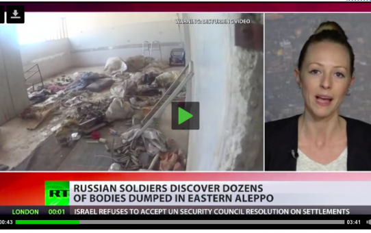 """W Aleppo odkryto dziesiątki ciał zmasakrowanych przez """"opozycję"""""""