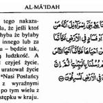 Koran 5-32