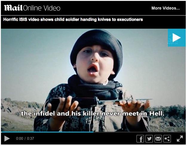 sześcioletni morderca dla Allaha