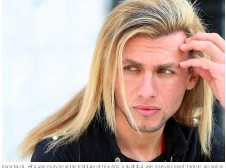 Wyzwolony Irak: aktor zakatowany za noszenie długich włosów i przylegających ubrań