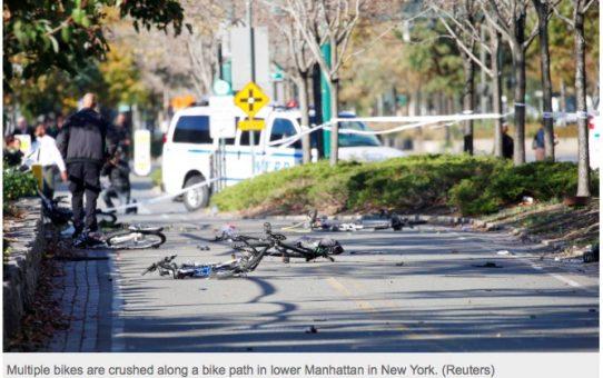 Uzbecki mudżahid zaatakował nowojorskich rowerzystów