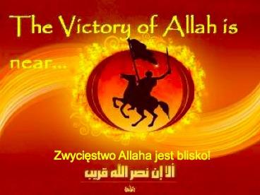 Zamieszki w USA szansą dla islamu