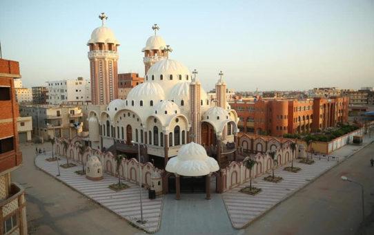 Kościoł koptyjski konsekrowany na święto Piotra i Pawła