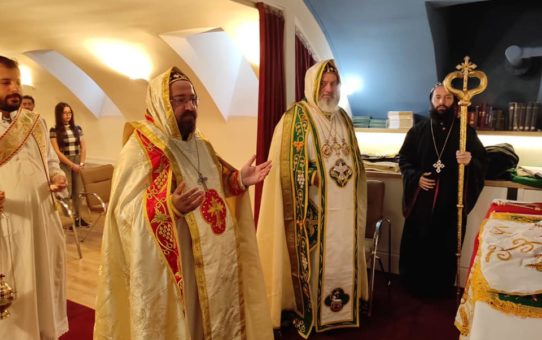 Syriacka Msza w Budapeszcie