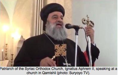 Prawosławny Patriarcha Asyryjczyków zachęca młodzież do obrony swojej ziemi w Syrii