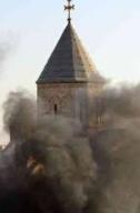 Zburzone kościoły Iraku