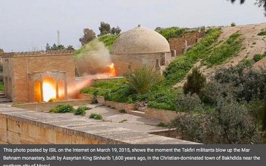 Bakhdida - największe chrześcijańskie miasto w Iraku