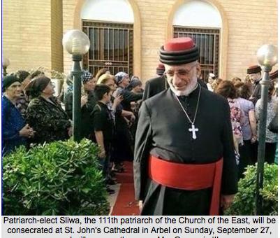 Nowy patriarcha Asyryjskiego Kościoła Wschodu