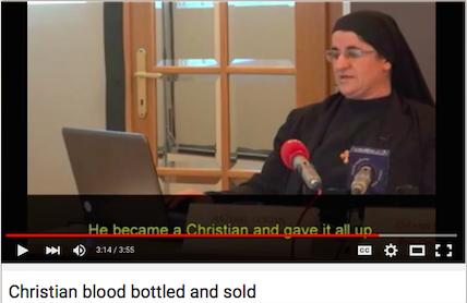 Chrześcijańska krew na ofiarę dla Allaha