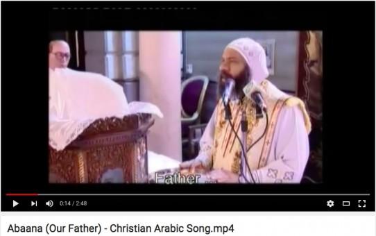 Modlitwa Pańska w języku arabskim