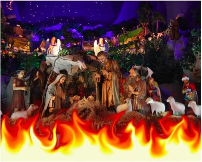 Dlaczego muzułmanin podpalił szopkę bożonarodzeniową we Włoszech?