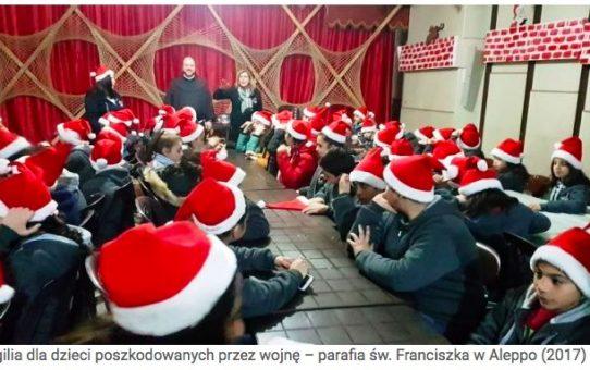 W Aleppo też były Święta Bożego Narodzenia