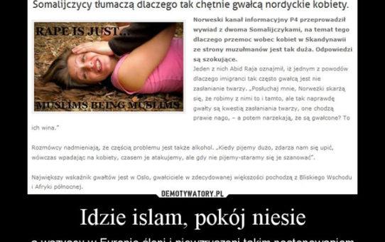 Dwie Francuski przyjęły islam i zapragnęły krwi