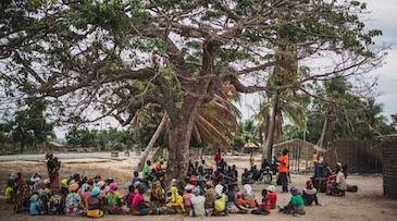 Allah okazuje swoją wielkość w Mozambiku